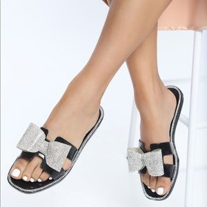 Fashionnova Bow Sandals
